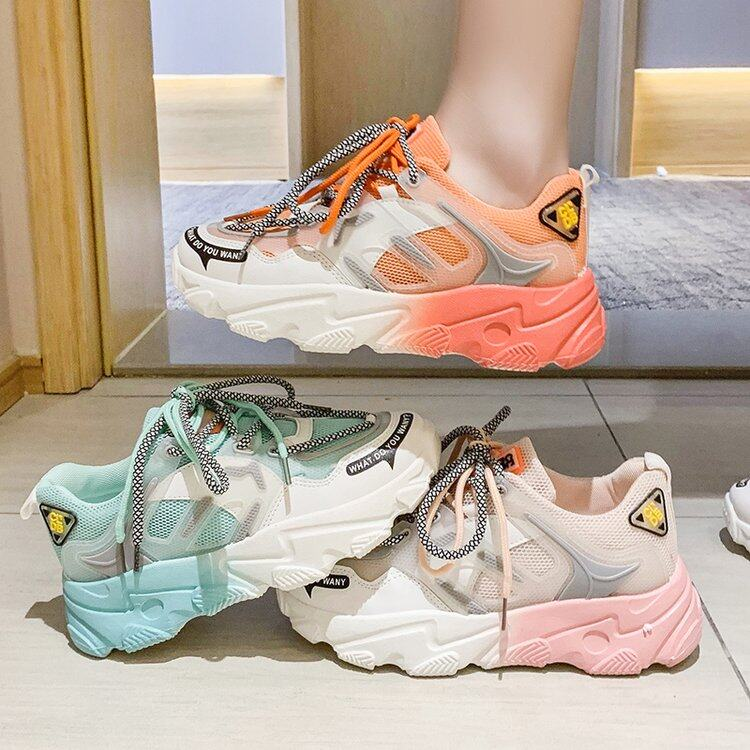 (PRE ORDER) TRENDING RAINBOW SUPER FIRE THICK BOTTOM SHOES