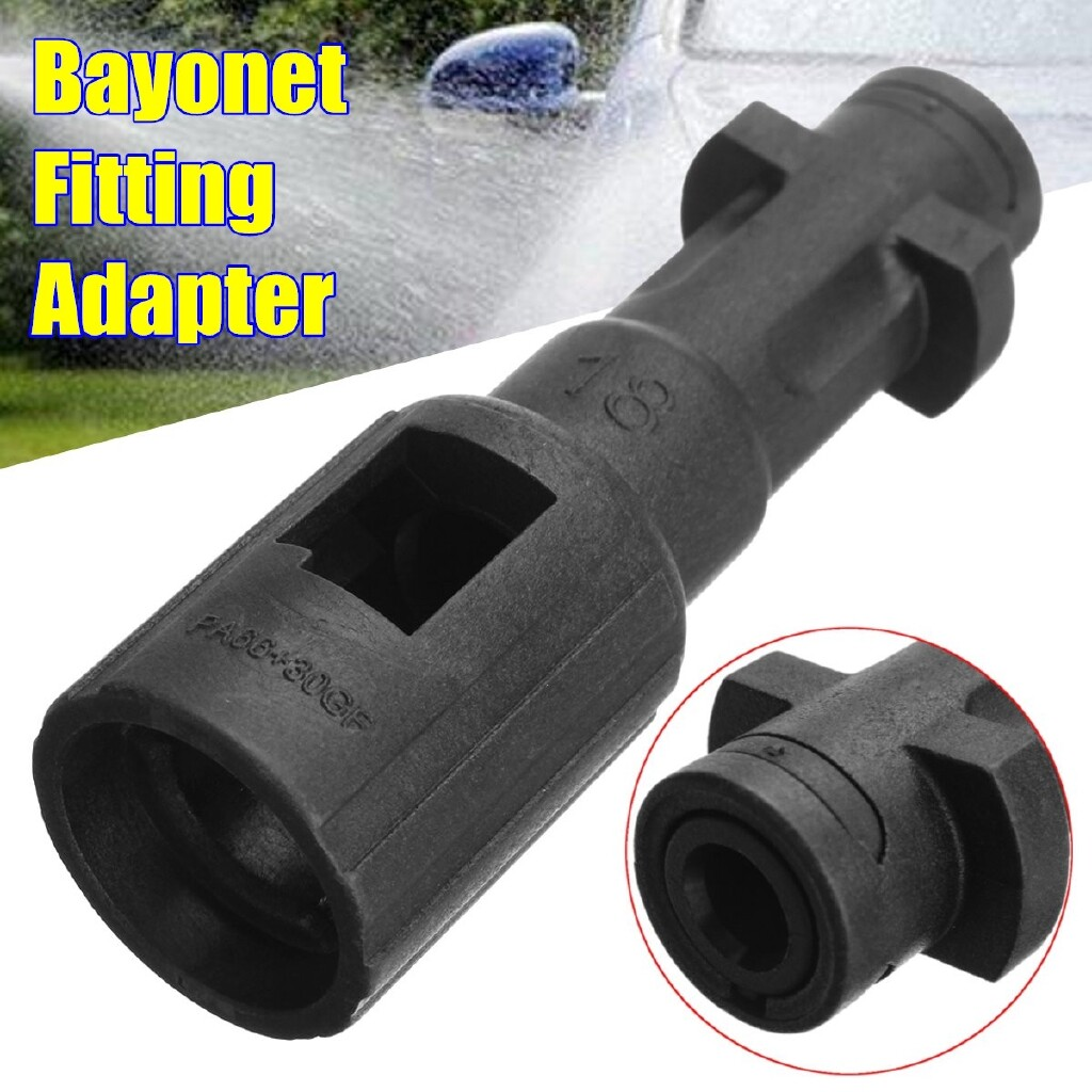 Wash & Wax - Bayonet Fitting Converter Adapter For Lavor Kew Nilfisk Alto To Karcher K Series - Car Care