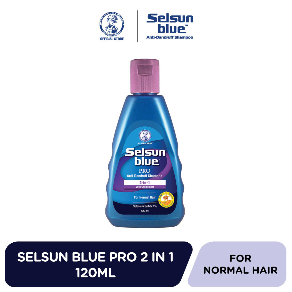 Selsun Blue 2-in-1 Treatment Shampoo 120ml