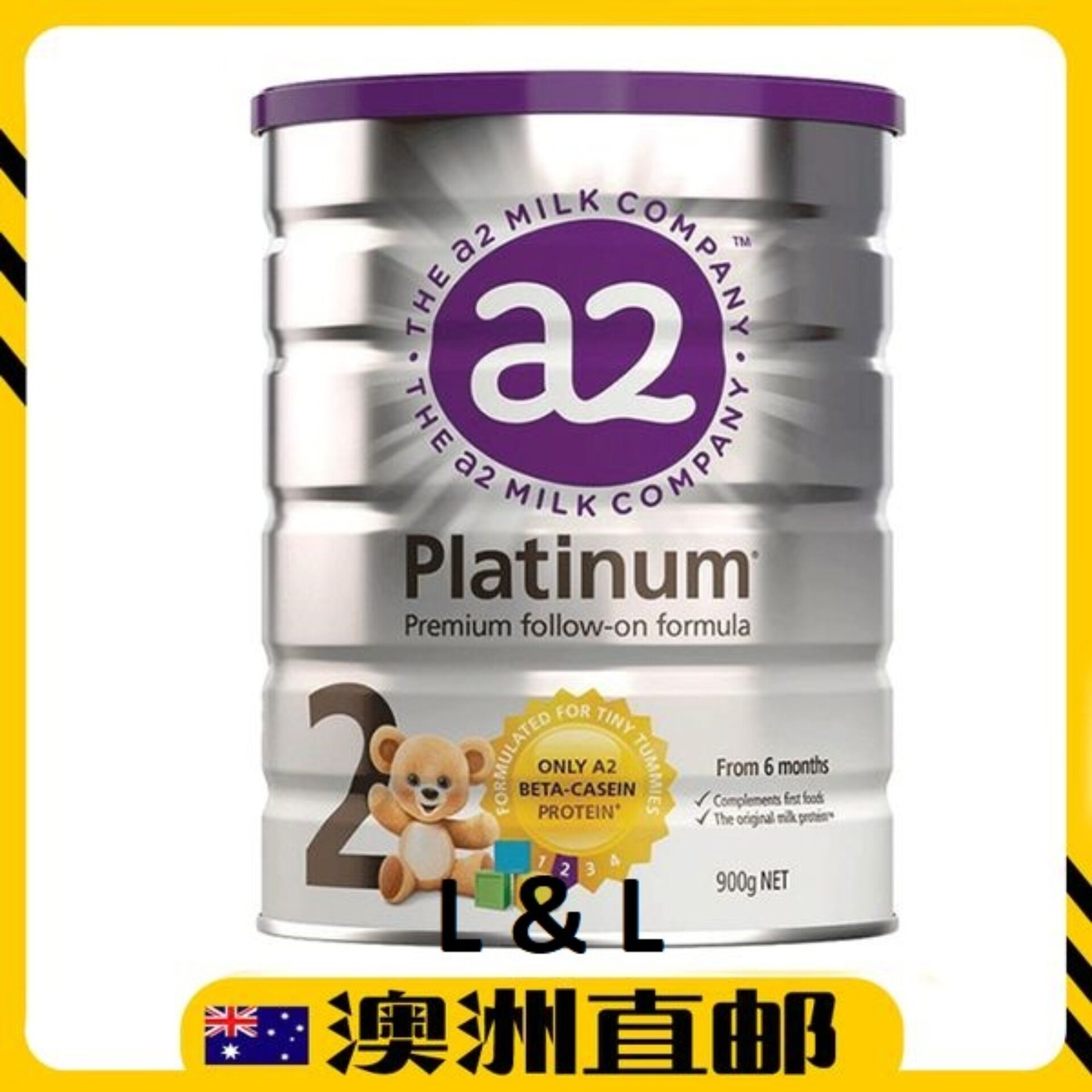 [Pre Order] Australia imported A2 Follow On Formula Step 2 ( 6-12 months )  900g