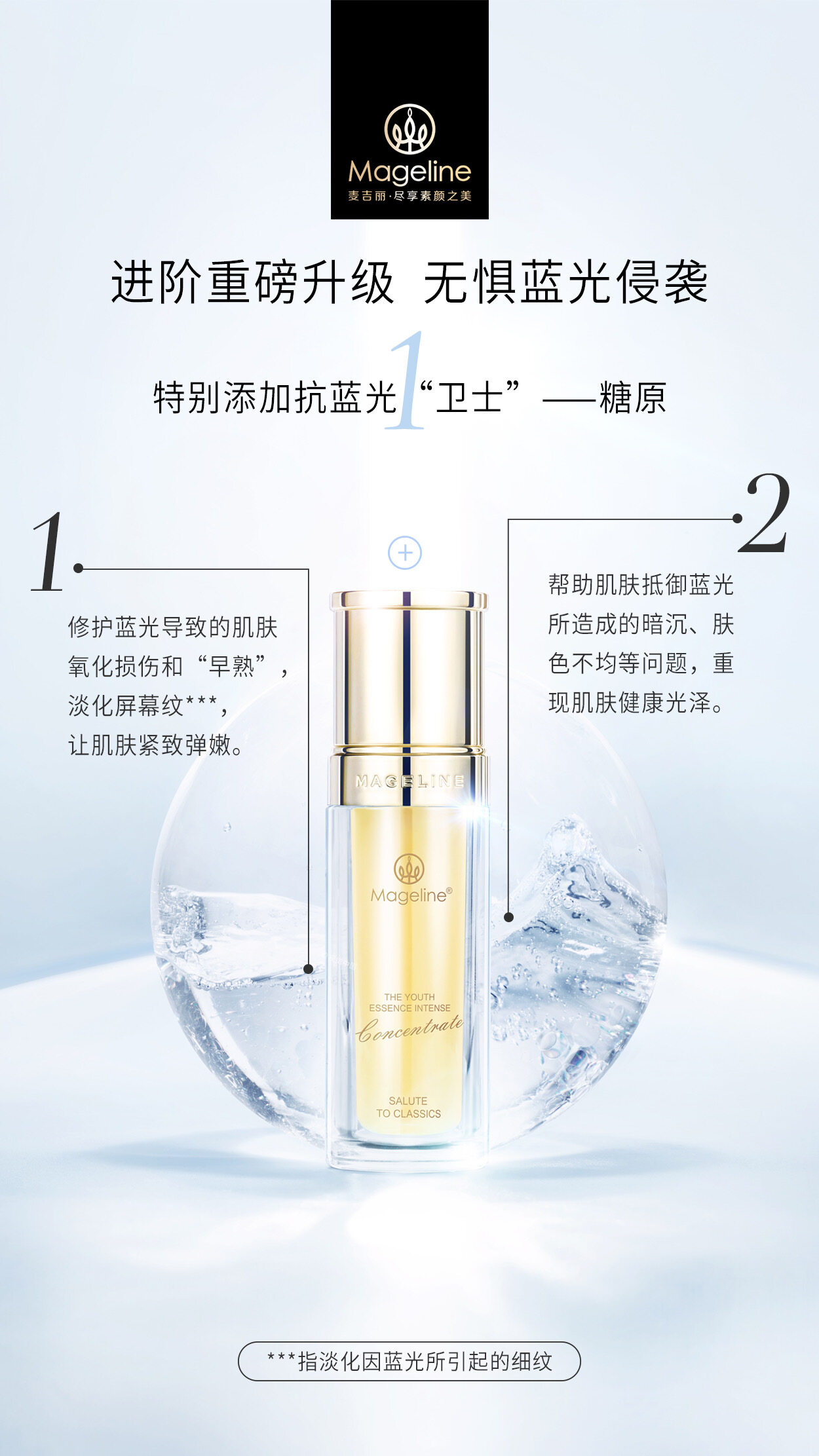 Mageline The Youth Essence Intense Concentrate for Dry & Normal Skin
