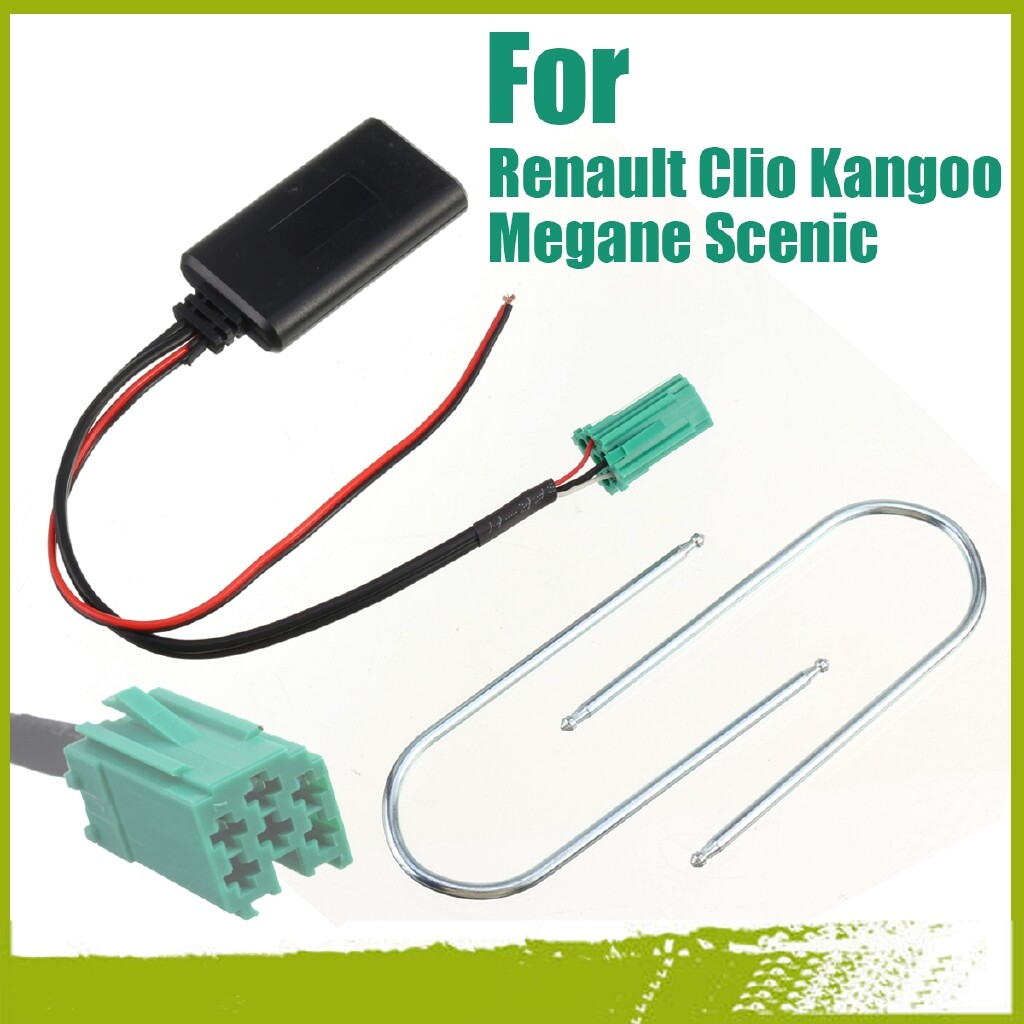 DIY Tools - Adapter AUX Cable Stereo Radio For Renault Clio Kangoo Megane Scenic BLUETOOTH - Home Improvement