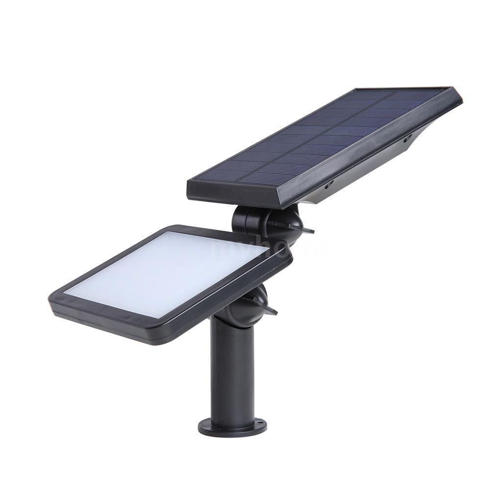 Outdoor Lighting - 5.5V 3.6W 60LEDs Solar Power Lights IP65 Water Resistance 4 Lighting Modes Outdoor Landscape - WHITE-60LED / WHITE-48LED