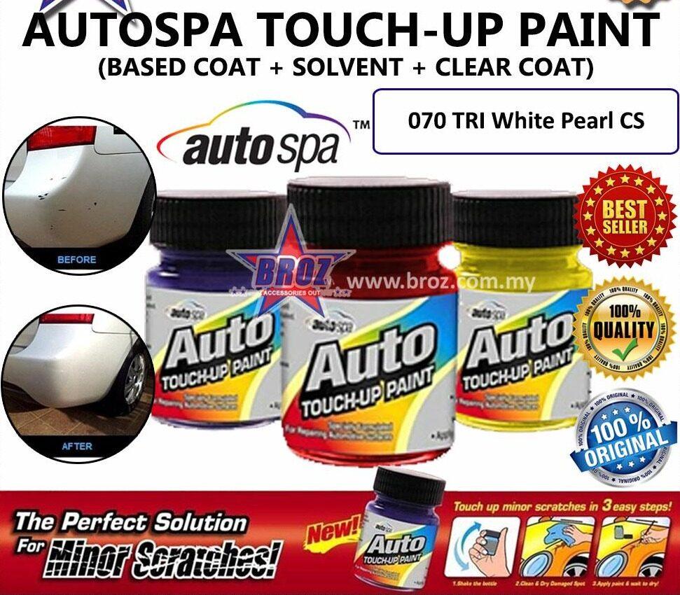 AUTOSPA Touch Up Paint Hilux 3pcs/Set (Base Coat + Solvent + Clear Coat)