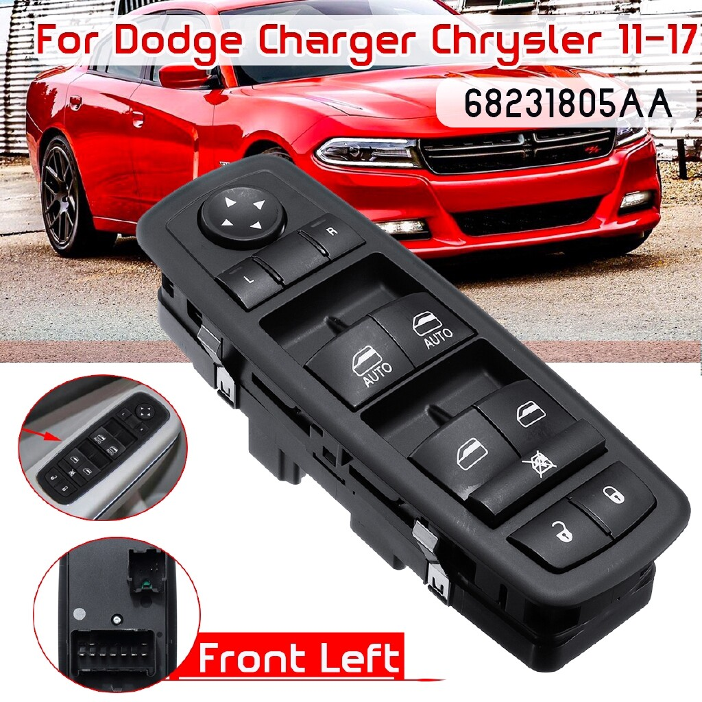 Automotive Tools & Equipment - Front Left Master Window Switch 68231805AA For Dodge Charger Chrysler 2011-17 - Car Replacement Parts