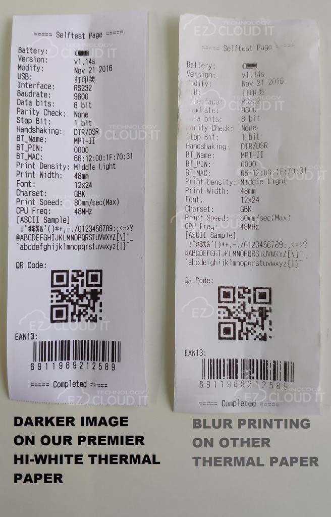 57mm X 40mm Coreless Paper Roll for Foodpanda/Grab/Credit Card Thermal Receipt Kertas resit