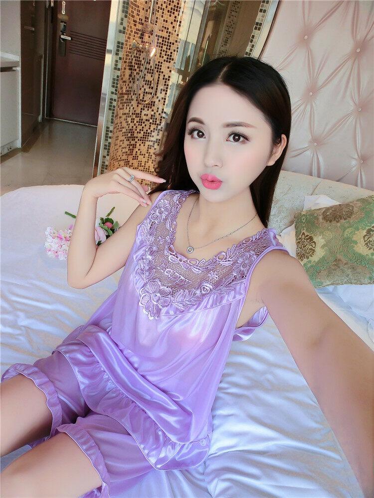 SHIP FAST* READY STOCK CUTE COMEL Nightwear Lingerie U Lace Sleeping Dress Wear Baju Tidur Pjamas