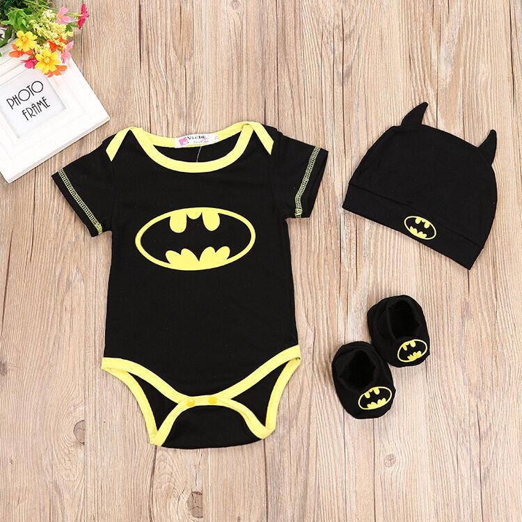 TheCutiesWorld Batman Series Baby Cloth Set