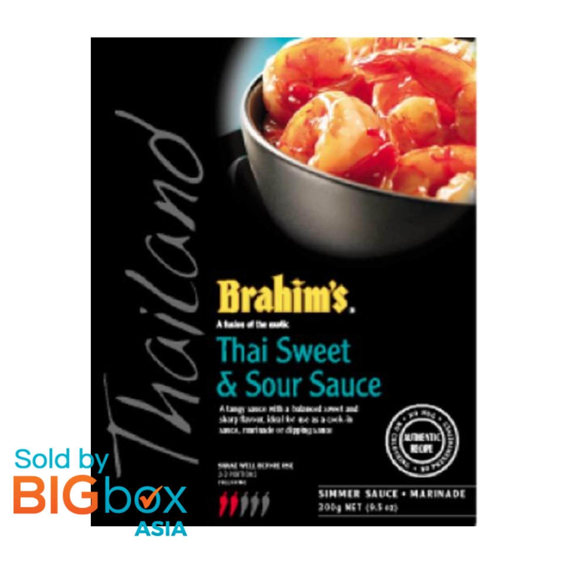 [BIGBox Asia] Brahim's Sweet and Sour Simmer Sauce/ Kuah Masam Manis Thai 300g - Malaysia