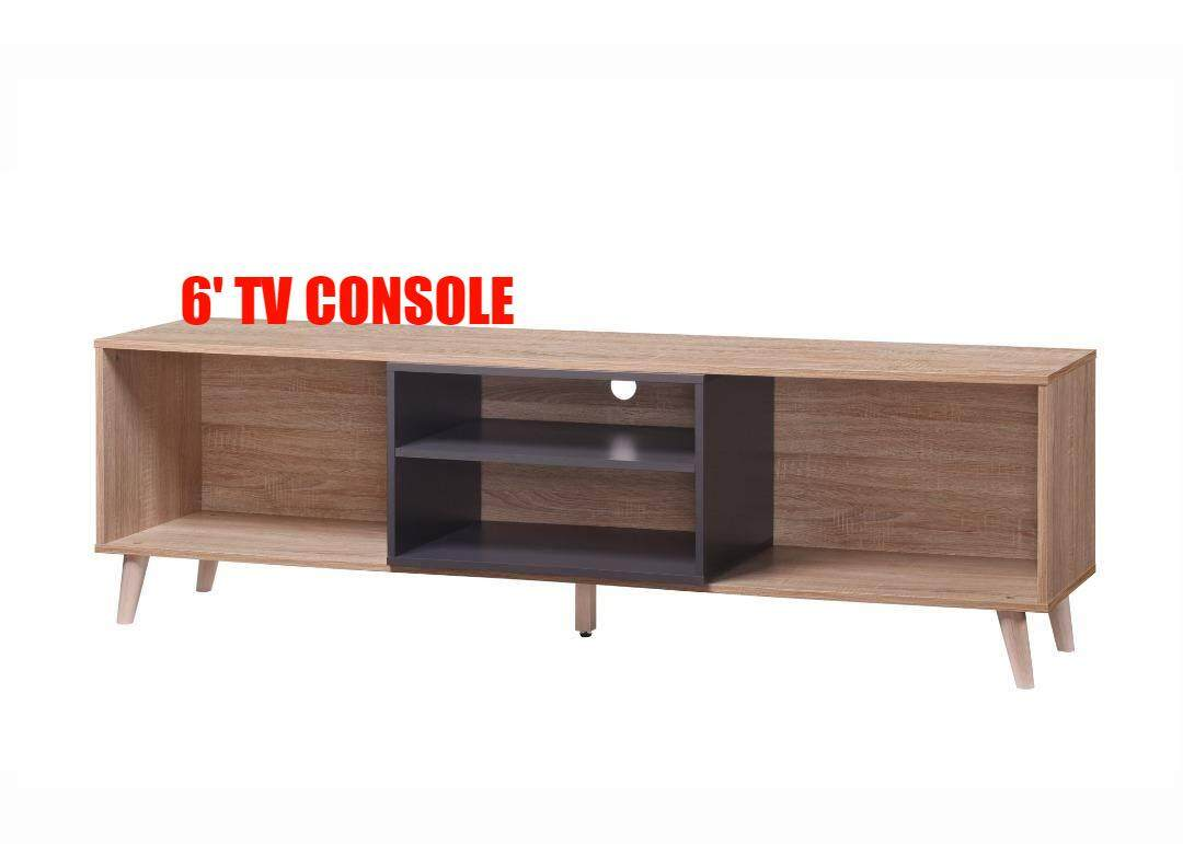 PRK 6FT (1800mm) TV CABINET / TV RACK/ TV CONSOLE