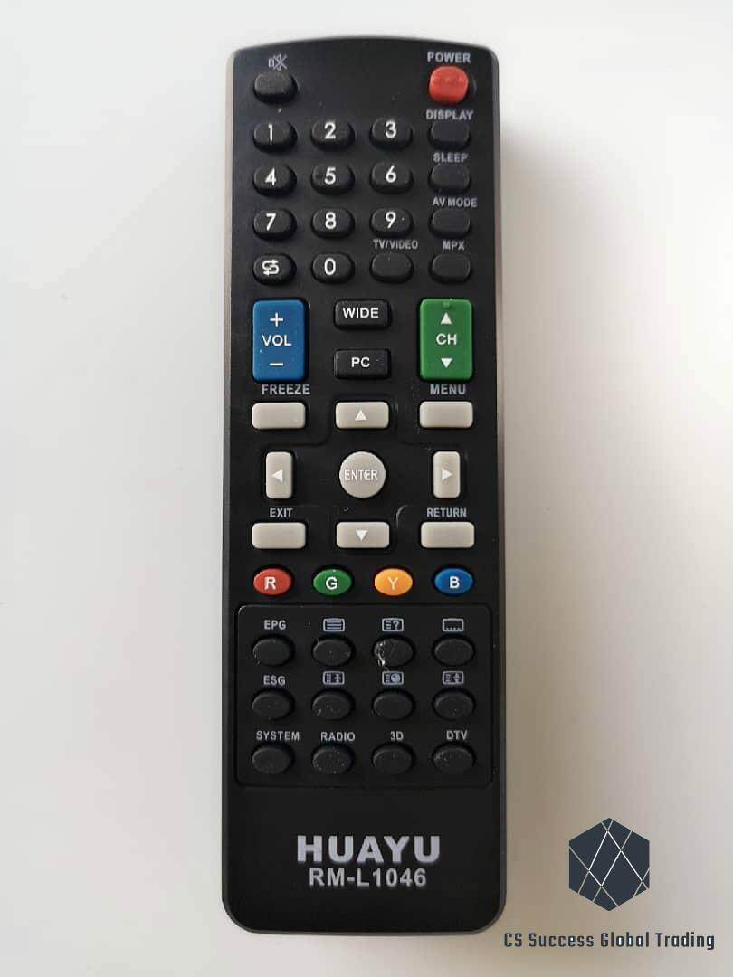 HUAYU SHARP RM-L1046 COMMON LCD/LED/TV REMOTE CONTROLLER