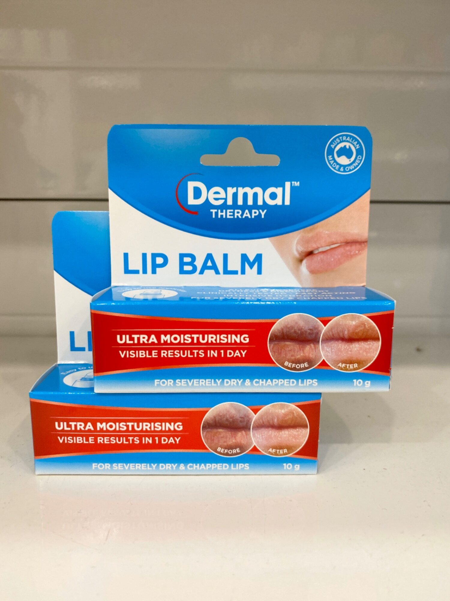 Dermal Therapy Lip Balm 10g x 2 (NEW PACKAGING)