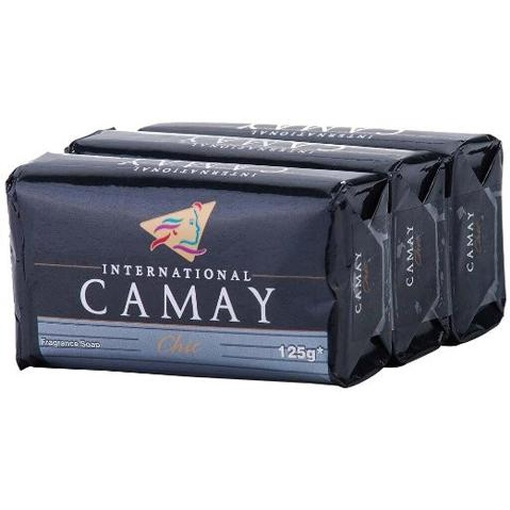 CAMAY CHIC SOAP 125G X 3 PACK