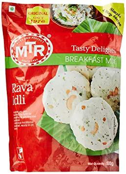 MTR INSTANT RAVA IDLI MIX 500G