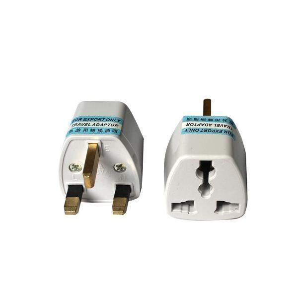 3 Units Of 3 Pin Universal Multi Power Travel Plug Converter Adaptor Adapter