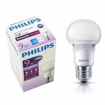 12 PCS (1 Box) Philips Essential LED bulb 9w E27 220-240V Cool