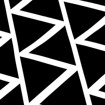 152 pcs Mini Triangle Removable Wall Stickers Vinyl Decal Kids Art Mural Decor