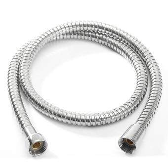 1m/1.5m/ 2m Bathroom Flexible Shower 1/2' Water Hose Pipe Stainless Steel Chrome 1m