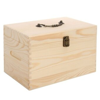 2 Tier Stores 56 Wooden Box Organizer Essential Oil Aromatherapy Container Case