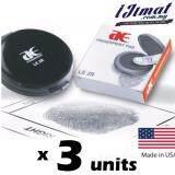 3 units  AE Finger print Pad LE2R / Thumbprint Pad Black / USA Import Good Quality Thumb Print Fingerprint -I JIMAT