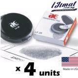 4 units  AE Finger print Pad LE2R / Thumbprint Pad Black / USA Import Good Quality Thumb Print Fingerprint -I JIMAT