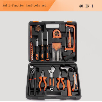 40 in1 hand tool set multi-function car repair tools portable household kit screwdriver wrench