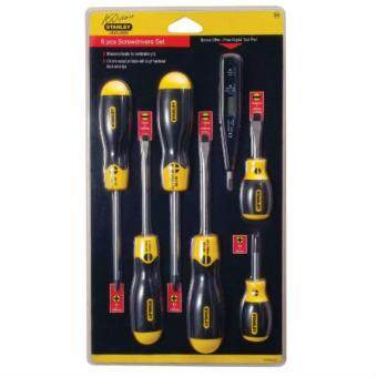 6-Piece 92-002 Stanley Bonus Cushion Grip Screwdriver Set