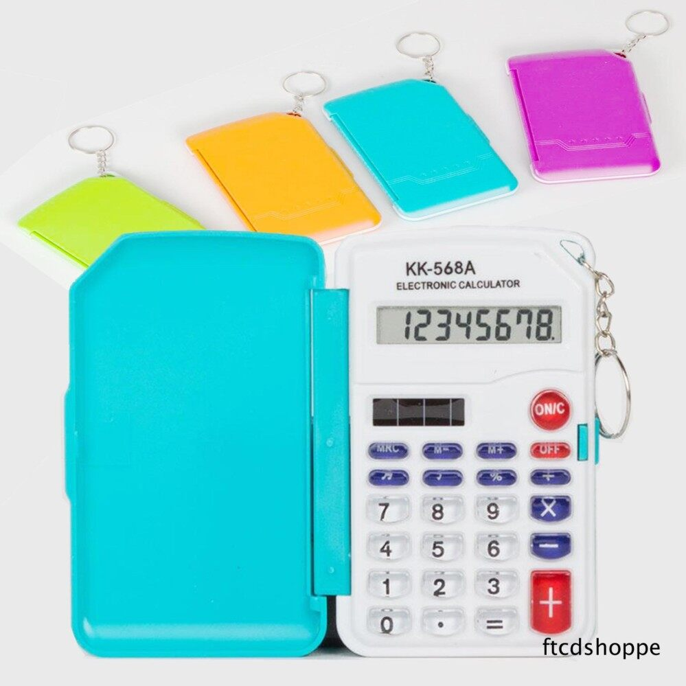 8 Digits Pocket Size Electronic Calculator