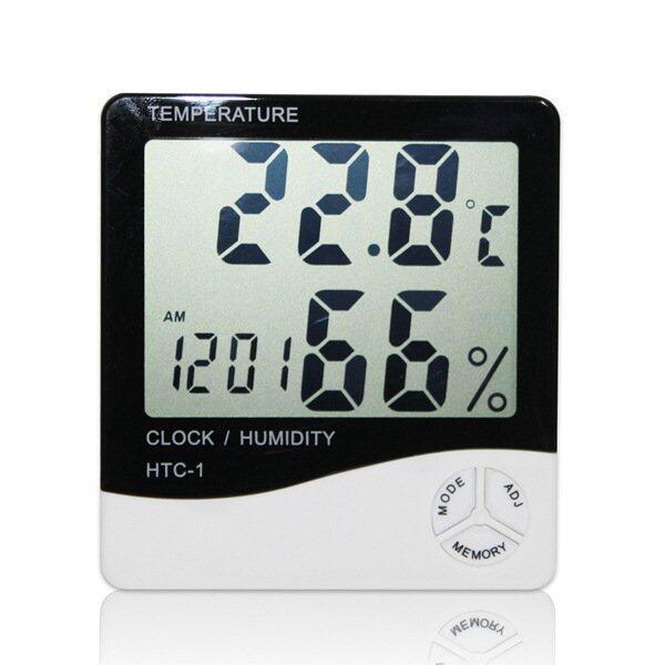 All-in-One LCD Hygrometer Digital Thermometer Alarm Clock Carlendar