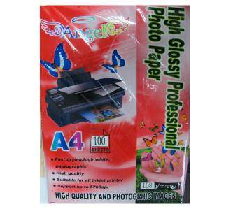 Harga Angel High Glossy Professional Photo Paper (A4)