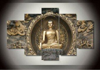 Harga Art Printed Painting Buddha Statue Painting Wall Art Room DecorPrint Poster Picture Canvas Wall Decor Painting (No Frame)