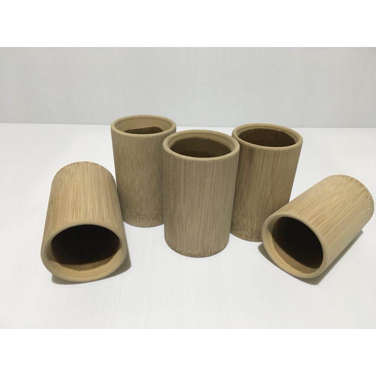 Bamboo Cup (Carbonizing Process)