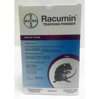 Bayer Pest Control Racumin(R) Tracking Powder Rodenticide Mouse Mice Rat Rodent Bait Poison 1kg