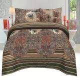 BC: QUEEN Fitted Sheet Set- 100% Cotton Rich-330 TC: (Basic-825)