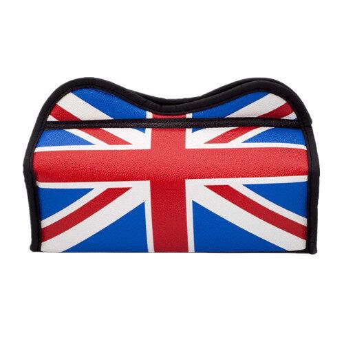 British UK Flag Series Tissue Box Organizer For Car / Home - Blue