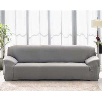 BUYINCOINS Fashion L-Shape Textile Spandex 3 Seaters Sofa Cover Furniture Protector Couch Slipcover Home