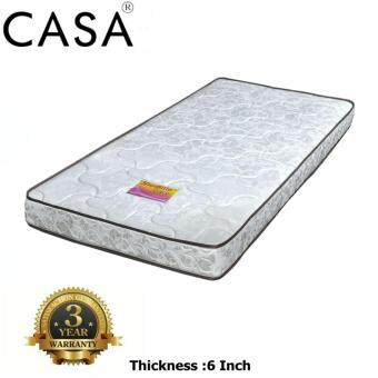 "Harga Casa Sunpillo Rubber Foam Thick 6"" Single Mattress Only 3 Year Warranty"
