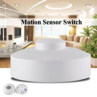 Ceiling Microwave PIR Body Motion Sensor Detector Light Auto On/Off Switch HS802