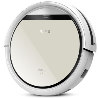 Harga Chuwi Ilife V5 Intelligent Robotic Vacuum Cleaner Set LCD TouchScreen Self-charge HEPA Filter Sensor Remote Control RobotAspirador (Intl)