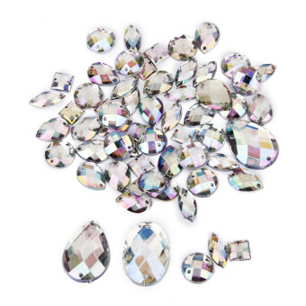 Crystal Sewing Button Decoration Diy Crafts Mixed Styles 50pieces