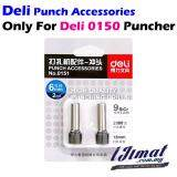 Deli 0151 Punching Drills For Heavy Duty Puncher Deli 0150 Punch Accessories Drilling Blade 1 Set 2pcs