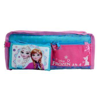 DISNEY FROZEN MAGIC SQUARE PENCIL BAG WITH COIN PURSE