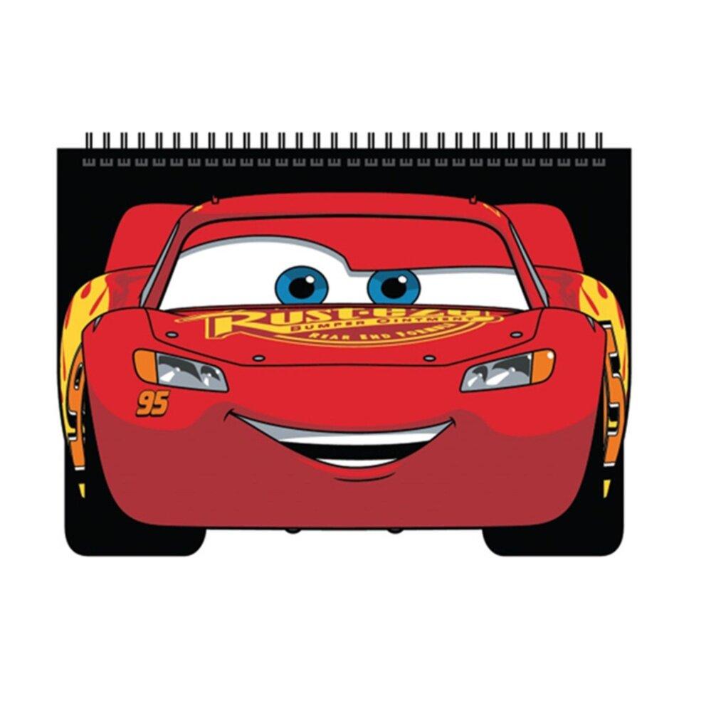 Disney Pixar Cars 3 Wire O Notebook - Black Colour