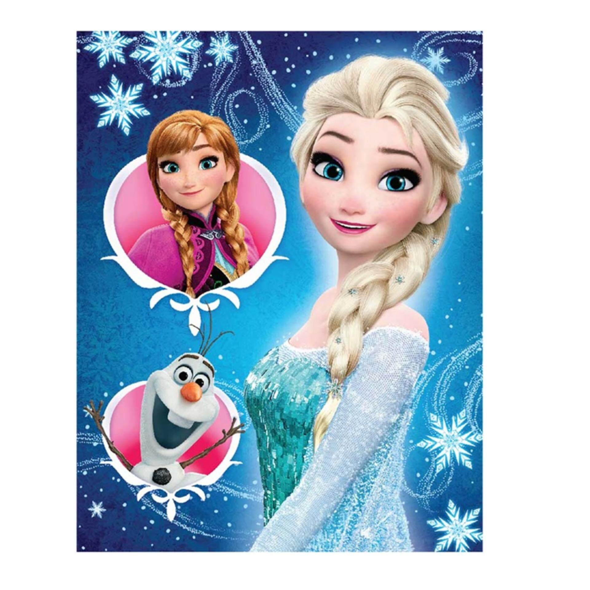 Disney Princess Frozen Exercise Book Set - Blue Colour