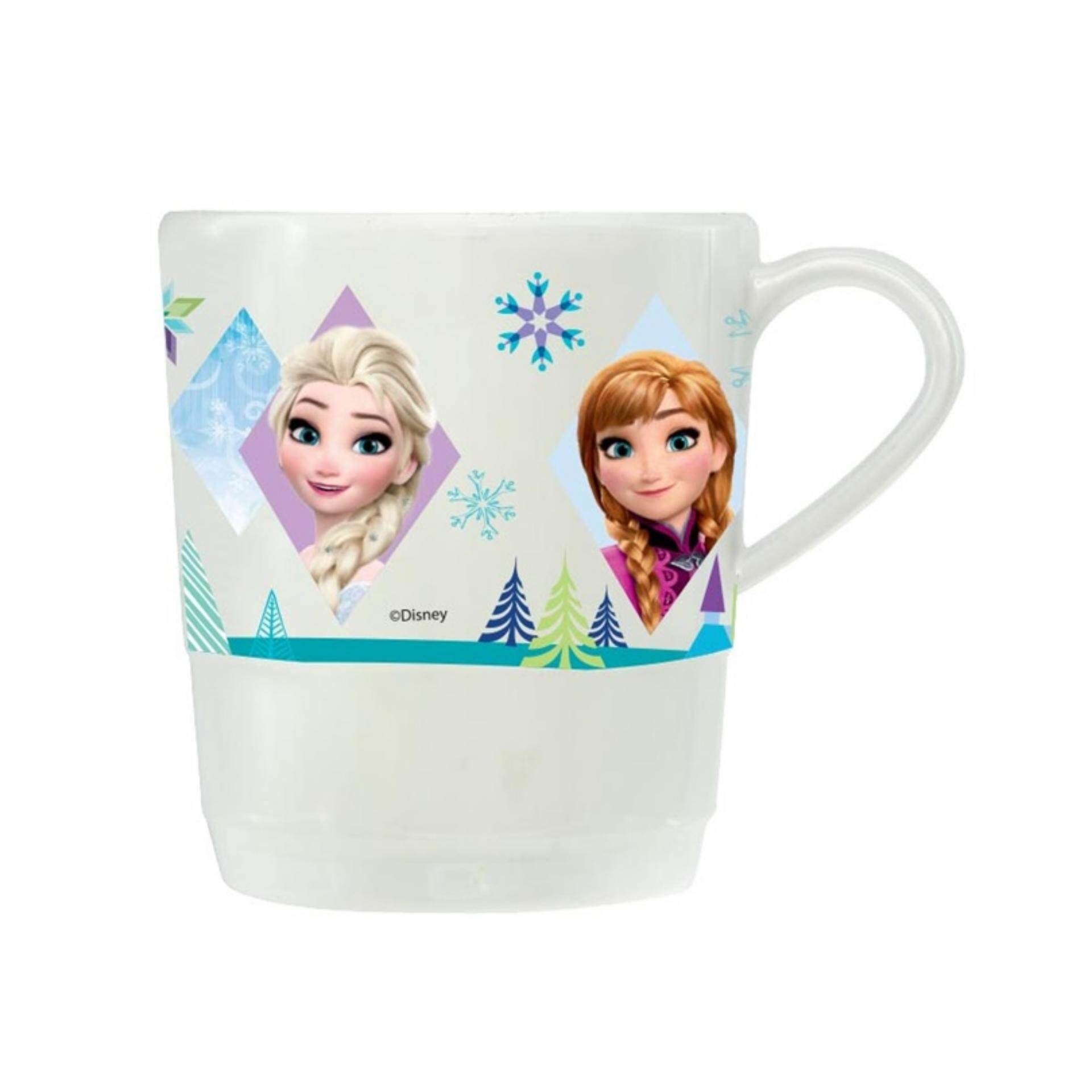 Disney Princess Frozen Step Mug 3 Inches - White Colour