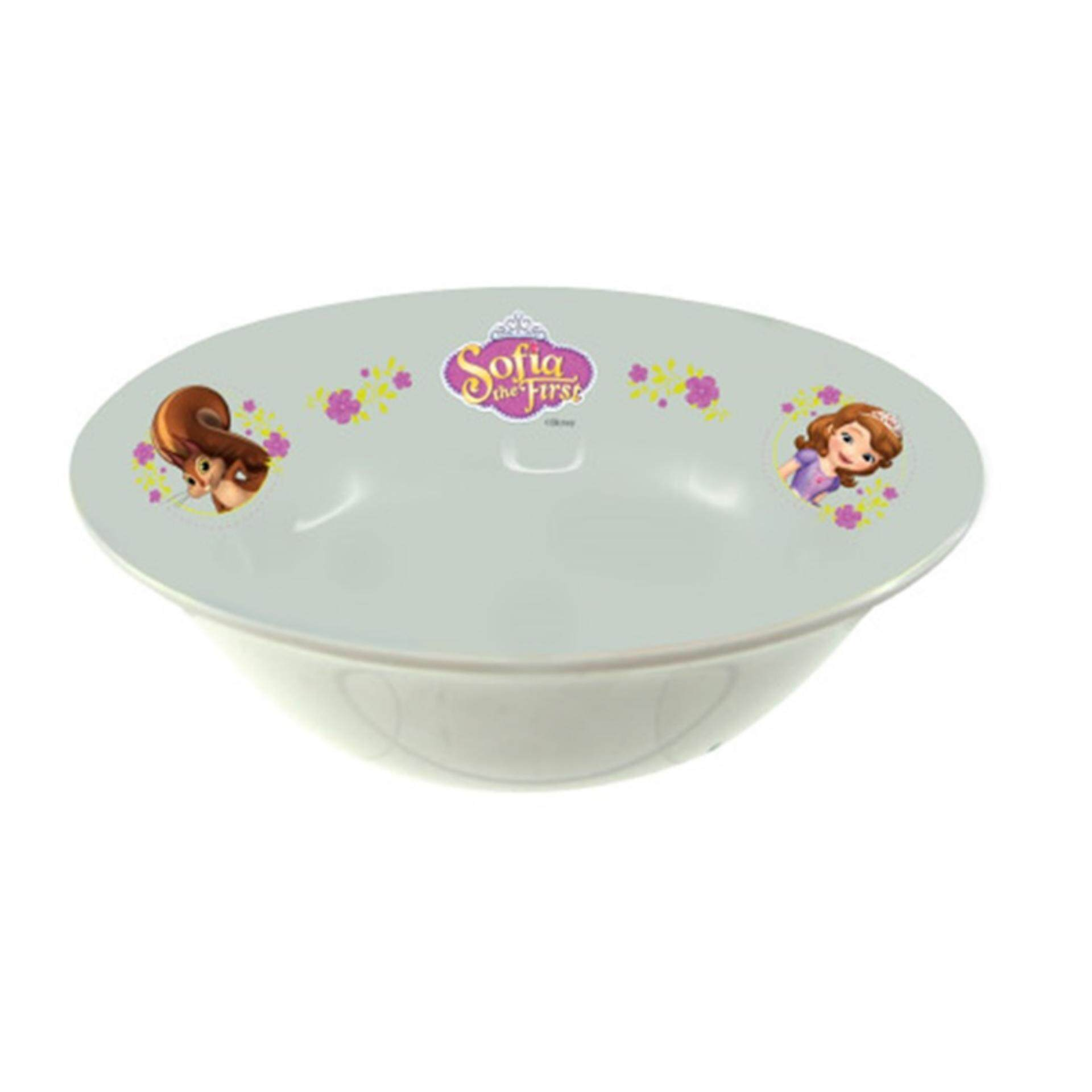 Disney Princess Sofia Soup Bowl 5.5 Inches - White Colour