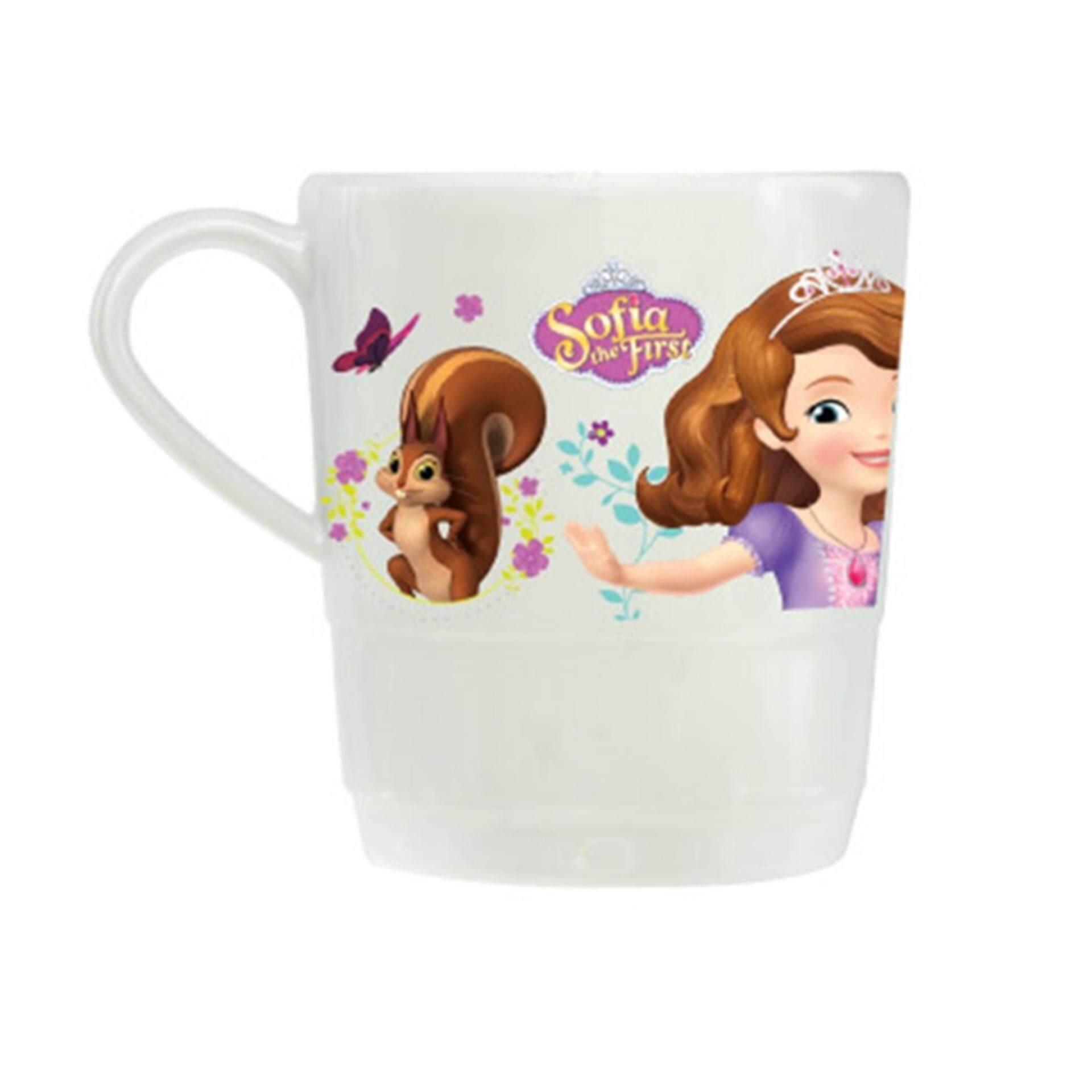 Disney Princess Sofia Step Mug 3 Inches - White Colour