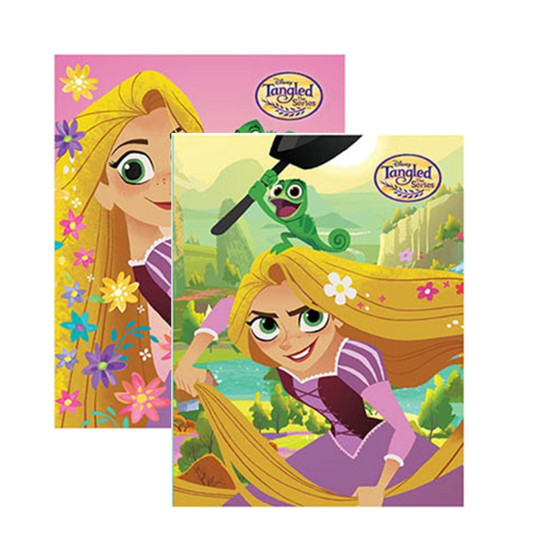 Disney Princess Tangled Exercise Book Set - Multicolour