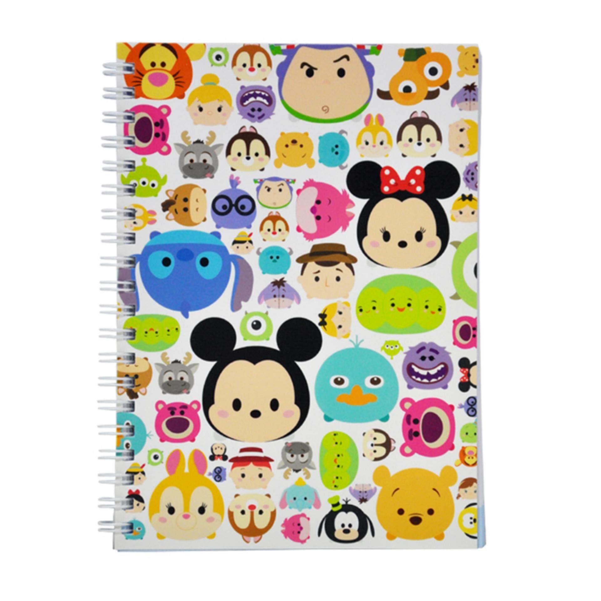 Disney Tsum Tsum NoteBook - Multicolour