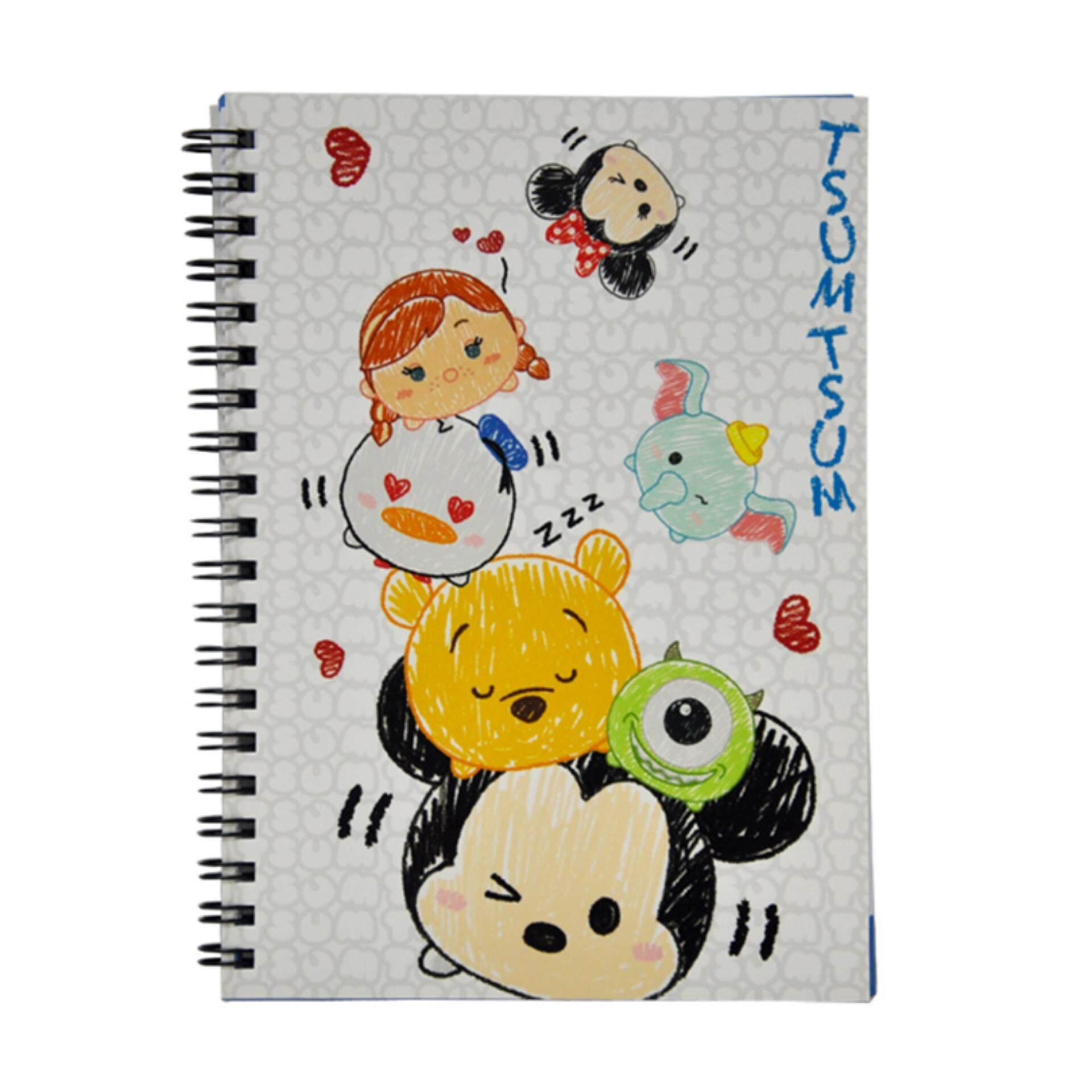 Disney Tsum Tsum NoteBook - Sketch